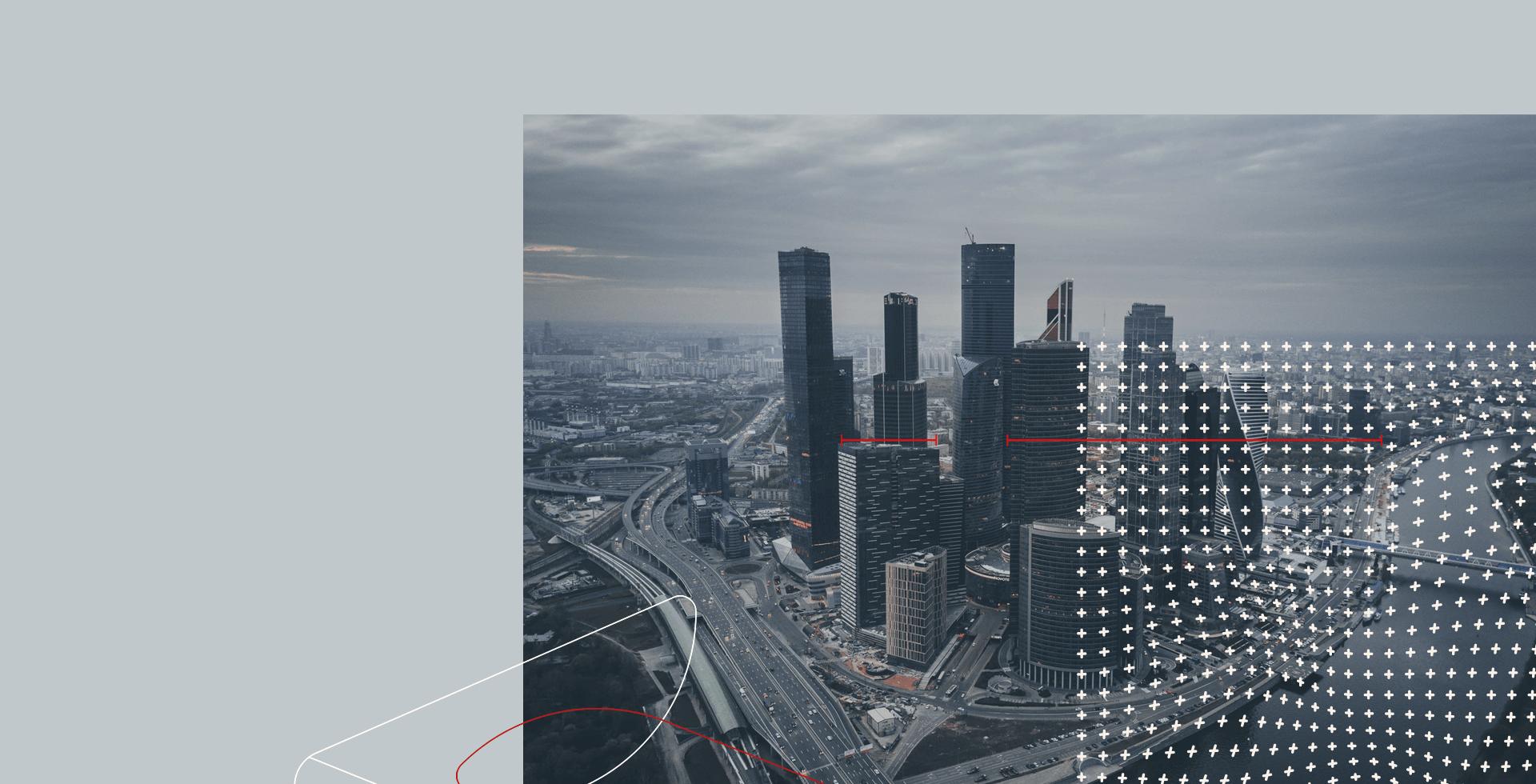 Banner institucional da SBC Law com vista aérea de cidade grande